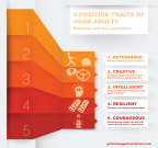 5 Positive Traits of ADHD Adults