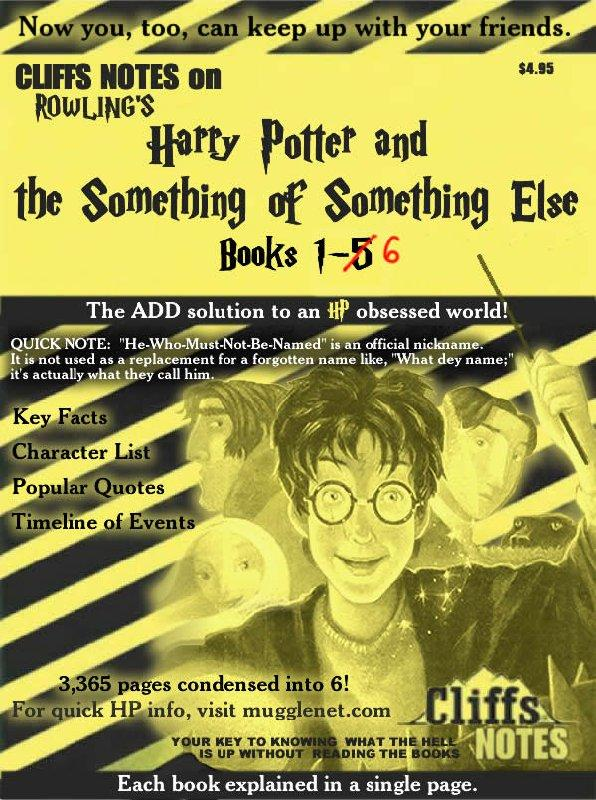 The ADHD Version of Harry Potter