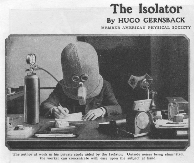 ADHD and The Isolator - Hugo Gernsback