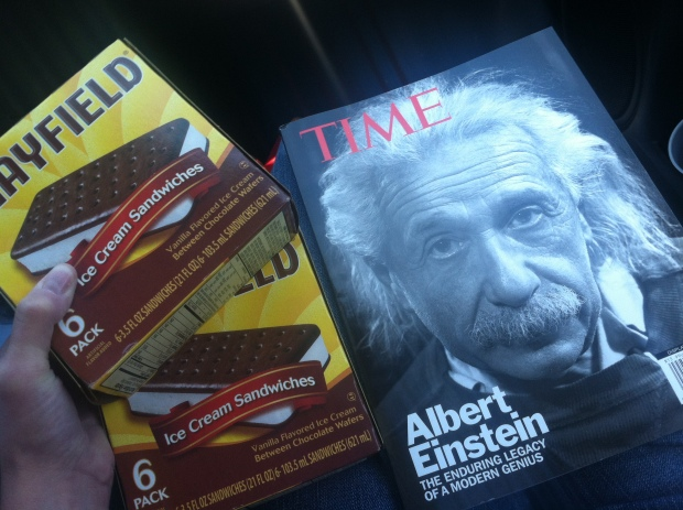 Einstein's ADHD and Ice Cream Sandwiches