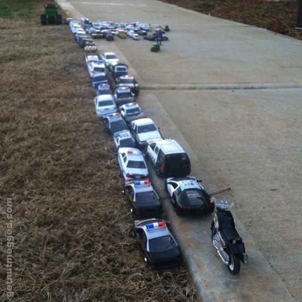 OCD Matchbox Police Cars
